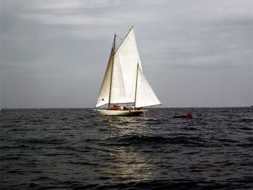 Turia is the boat on which Robert Schuldenfrei learned to sail.