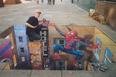 Street Art: Spiderman  Streetart